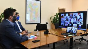 El Intendente de Mendiolaza en Reunión por las Restricciones