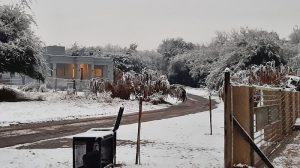 Nieve en Mendiolaza