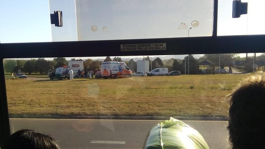 Accidente en la Ruta E53 de Mendiolaza