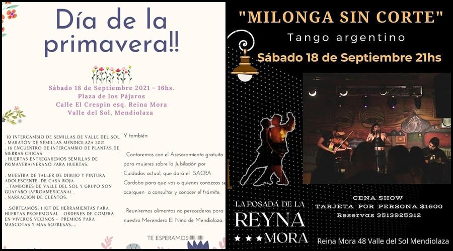 Actividades Culturales en Mendiolaza 16/09