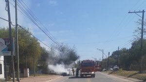 Auto Incendiado en Mendiolaza